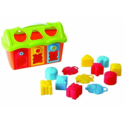 PlayGo Shape and Lock Barn: Toys & Games