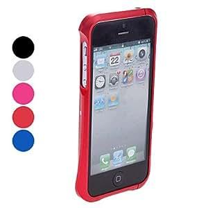 Mini - Elegant Design Metal Zircon Bumper Case for iPhone 5/5S - Color , Rose