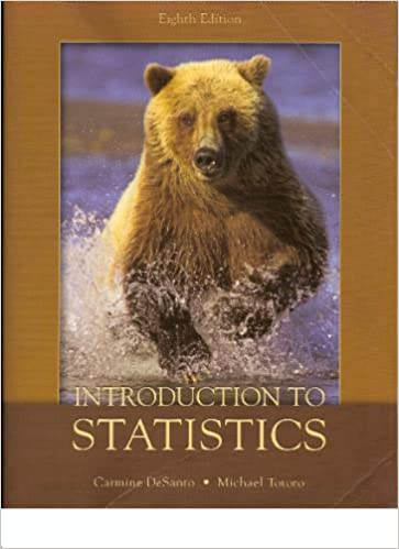 an introduction to statistics 10th edition desanto