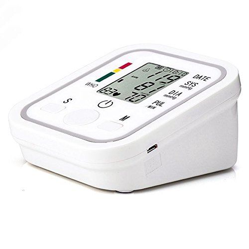 Malihome Arm Blood Pressure Monitor Health Care Monitors Tonometer Pulsometro Digital Upper Portable...