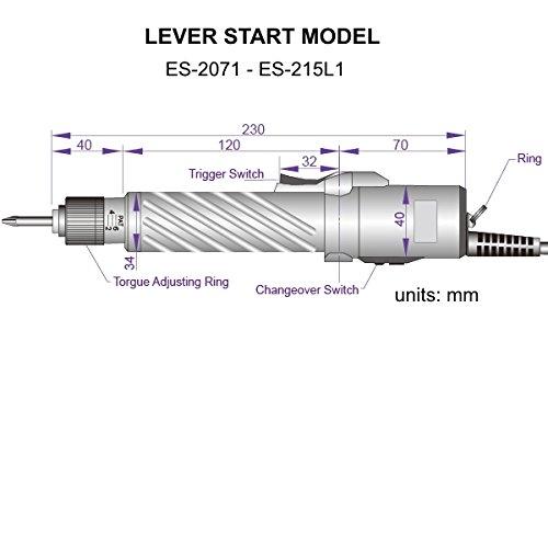 ES-215L1 Lever Start Torque Screwdriver (Slip Clutch)