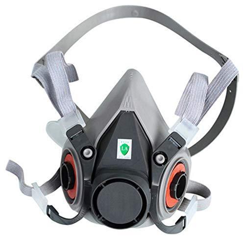 SANNYSIS Mask Respirator Gas Mask Paint Mask Dust Mask 6200 Half
