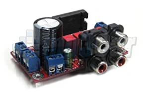 TDA7850 Internal 4 x 50W Quad Bridge Power Amplifier
