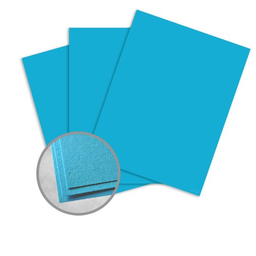60lb Text Blue - Astrobrights Celestial Blue Paper - 11 x 17 in 60 lb Text Smooth 30% Recycled 500 per Ream