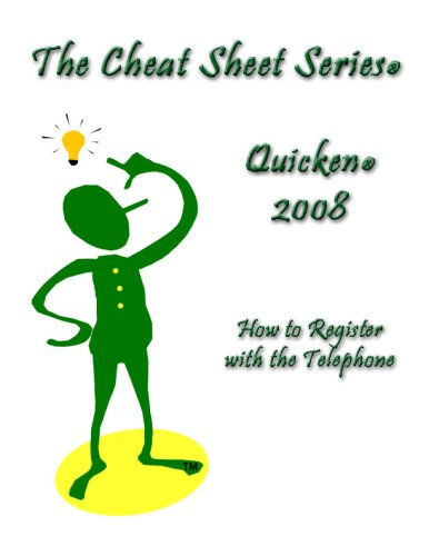 Quicken   How To Register With The Telephone  The Cheat Sheet Series