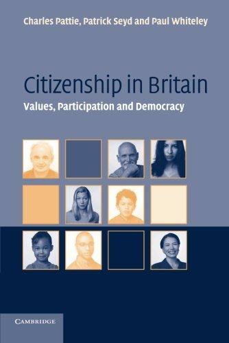 Citizenship in Britain: Values, Participation and Democracy pdf epub