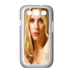 Samsung Galaxy S3 9300 Cell Phone Case White_Scarlett Johansson Portrait Npywl
