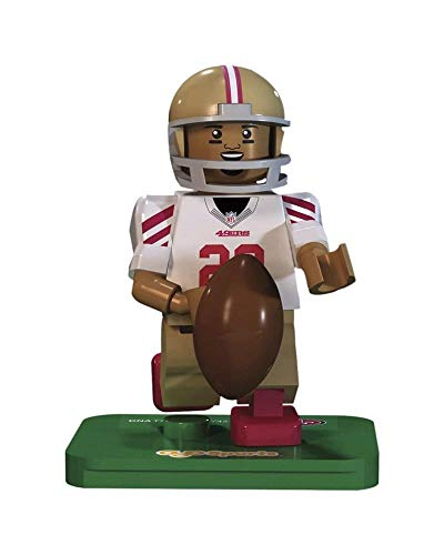 OYO NFL GEN3 San Francisco 49ers Reggie Bush Limited Edition Minifigures, Red, Small (San Francisco 49ers Limited Edition Football)