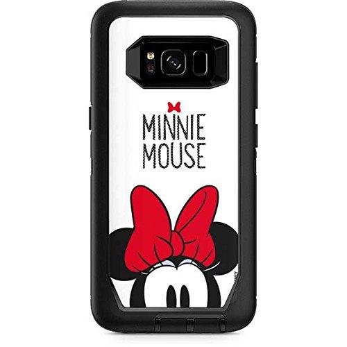 buy popular 0f59f 687b9 Amazon.com: Skinit Minnie Mouse OtterBox Defender Galaxy S8 Skin ...