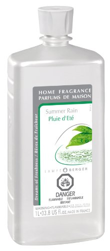 Lamp Air Fragrance Lamp - Lampe Berger Fragrance, 33.8 Fluid Ounce, Summer Rain