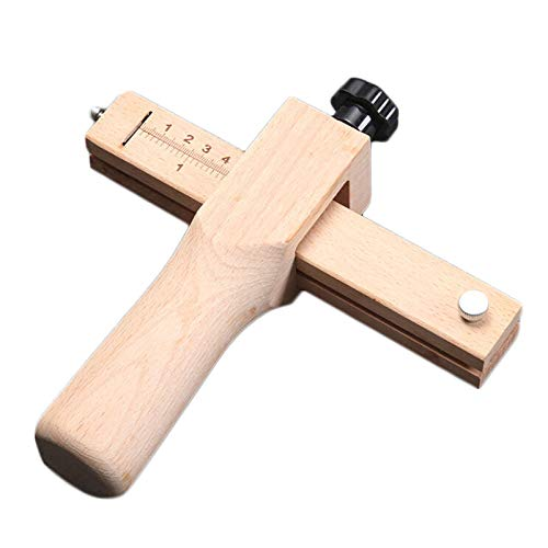 Wood Adjust Strip and Strap Belt Cutter CraftTool Leather Hand Cutting Tools DIY