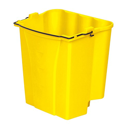 Rubbermaid Commercial FG9C7400YEL Dirty Water Bucket for WaveBrake Combos, 4.5-Gallon Capacity, (Wavebrake Combo)