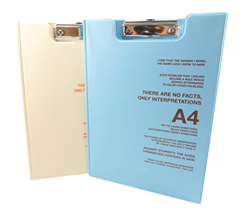 Clipboard Cover Letter Size Cream product image