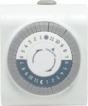 Jasco GE 15076 24-Hour Plug-In Mechanical Timer