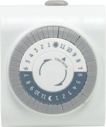 GE - 24-Hour Mechanical Outlet Timer