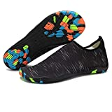 Barefoot Water Shoes Mens Womens Quick Dry Unisex Sports Aqua Shoes Lightweight Durable Sole For Beach Pool Sand Swim Surf Yoga Water Exercise (3.5UK/36EU, Style 5)