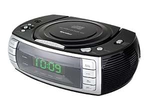 Karcher UR 1305 - Radio despertador estéreo con reproductor de CD integrado [Importado de Alemania]