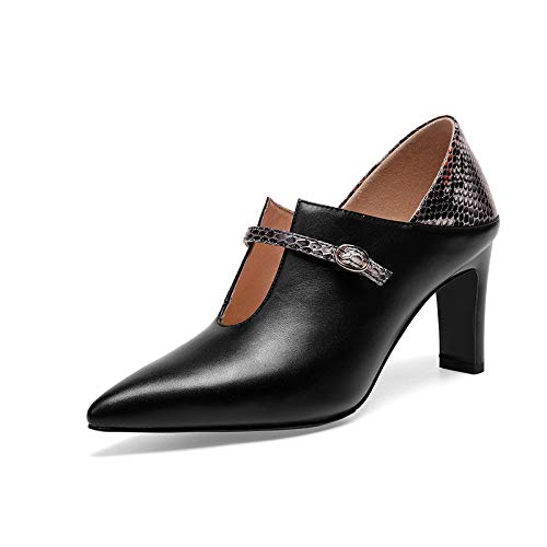 Bloc Cheville Orteils Courtes Chaussures Talons Talons Black Hauts Bottes Femmes pECwqvxPP