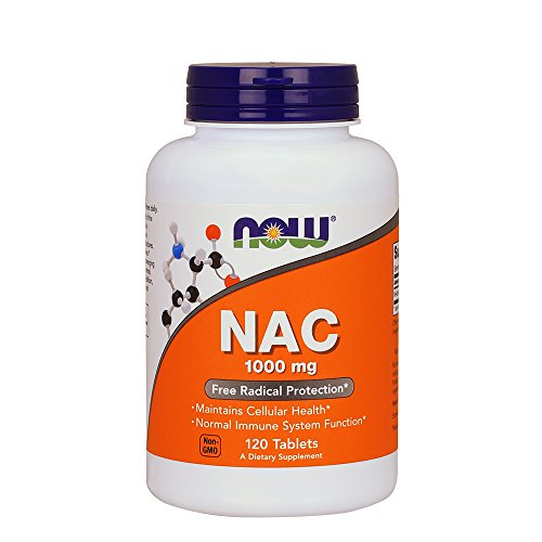 NOW N-Acetyl-Cysteine 1000 mg, 120 Tablets