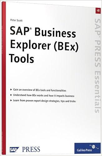 SAP BEx Tools