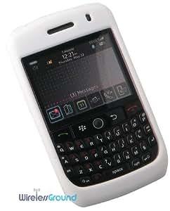 BlackBerry Curve 8900 Silicone Skin - White