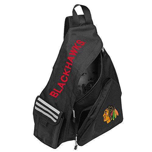 - Officially Licensed NHL Chicago Blackhawks Leadoff Slingbag