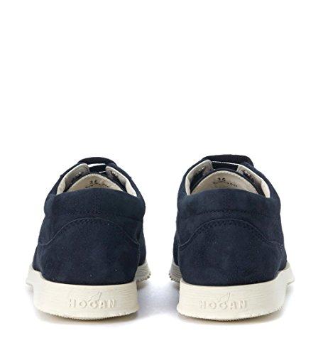 Donna Blu Hogan Da Blu Camoscio Tradizionale Sneaker In B5Fwqn8