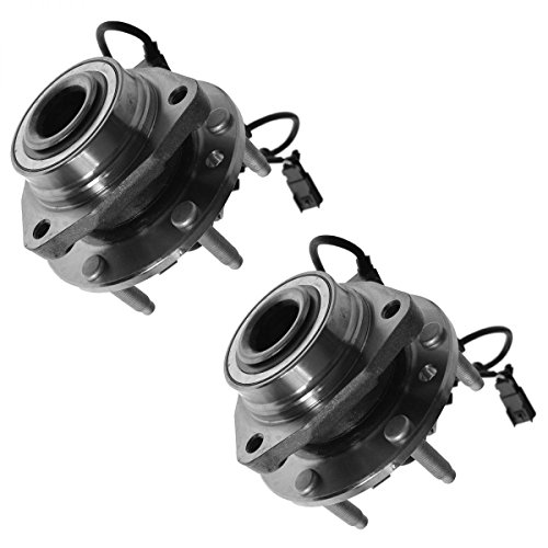 DTA Front Wheel Bearing & Hub Assemblies NT513188 x2 (Pair) Brand New Fits Chevrolet Trailblazer, GMC Envoy, Rainier, Bravada, 9-7x ()