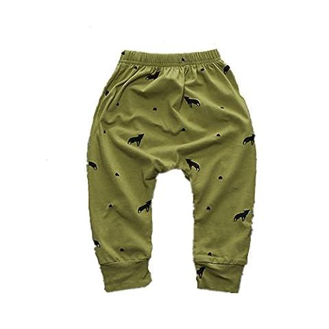 Winzik Newborn Infant Baby Boys Girls Outfits Pattern Harem Pants Children Trousers (0-6 months, 6#)