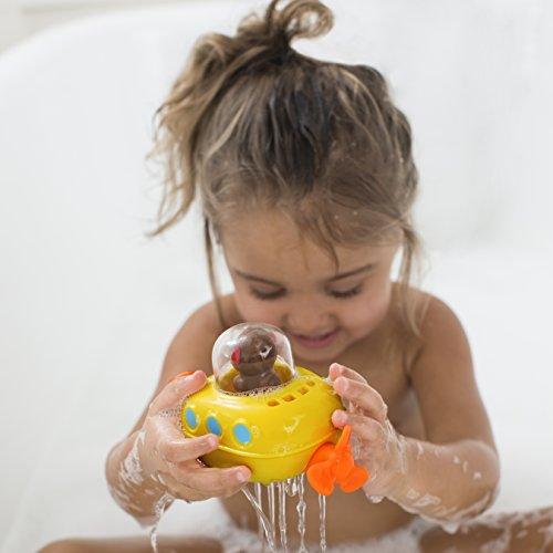 41tFm20fwpL - Skip Hop Pull & Go Monkey Submarine: Baby Bath Toy, Marshall Monkey Zoo Character