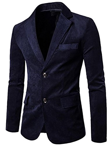 Blue Corduroy Jacket - 4