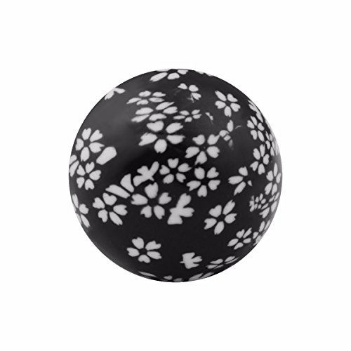 EUDORA Harmony Bola 20mm New 23 Colors Special Hand Painted Inner Ball Musical Chime Black Cherry ()