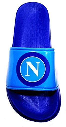 Arnetta Napoli Ufficiale Mod Uomo Fascione S19085 Ciabatte Azzurro Ssc Fr4wqfF
