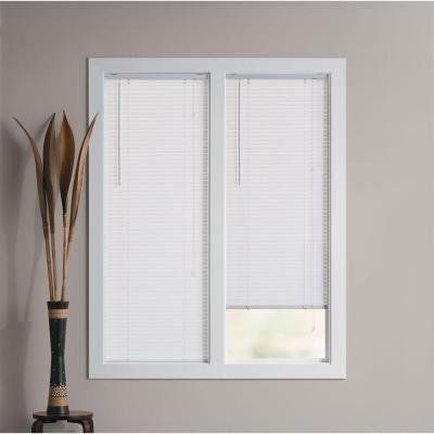 (1 Inch Premium Cut-to-size White Vinyl Blinds)