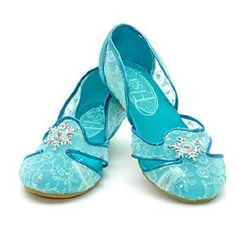 931aff4a2 Disney, Frozen Elsa costume, fancy dress Shoe For Kids Girls --- UK Size 13  / 1 --- EU SIZE 32 / 33: Amazon.co.uk: Toys & Games