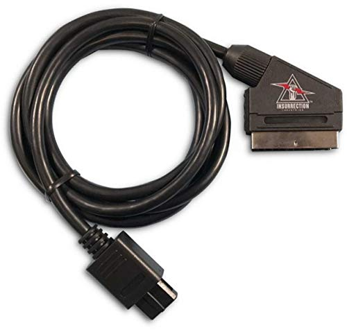 Super Nintendo Entertainment System Compatible RGB SCART Cable
