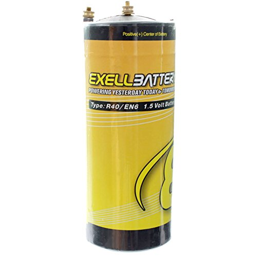 Exell Battery EBR40 Type R40 1.5V Battery EN6, HO40, 906AC, Ignitor USA SHIP