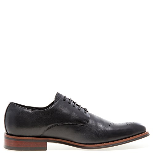 Jump Newyork Mens Landry Sport Dress Oxford Scarpa Nera