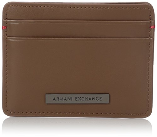 Credit A Men's Holder Camel X A Card X Exchange Armani SSvTwY