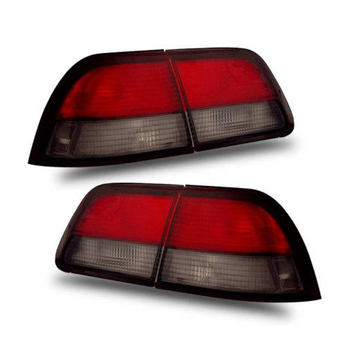 SPPC 4 Pieces Taillights Red/Smoke For Nissan Maxima - (Pair)