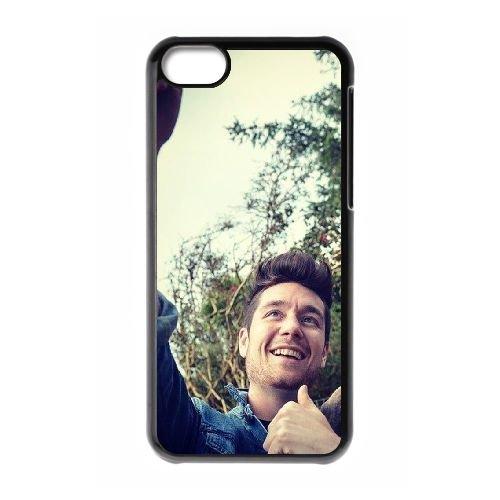 Bastille coque iPhone 5C Housse téléphone Noir de couverture de cas coque EBDOBCKCO10230