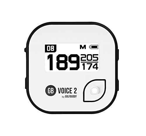 Golf Buddy PGA No Name Unisex Voice 2 Black/WhiteGOLFBUDDY Voice 2 Talking Golf GPS Black/White, Black/White, One Size