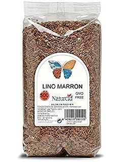 Semillas De Lino Marrón Biológico Ecológicas Naturcid 500 G