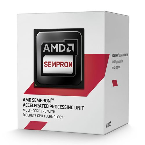 7 opinioni per AMD AM1 Sempron 3850 Box Processore da 1.3 GHz, 2 MB Cache, 25 W, Nero