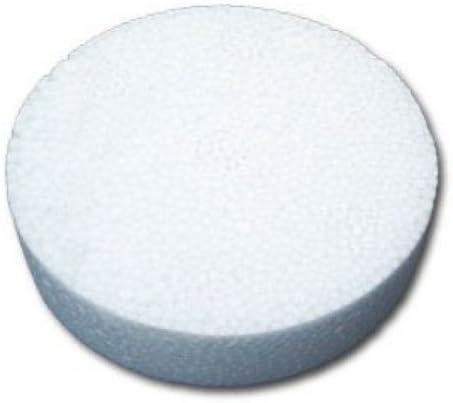 100 Styropor Rondelle Weiß Styroporrondelle Dämmstoffdübel Tellerdübel WLG040