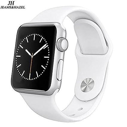 Amazon.com: JEAMS&HAZEL Smart watch DT-A1 (white)
