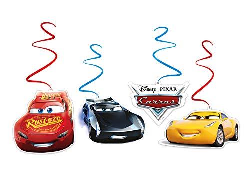 Mobile Espiral R298 Cars 3 - Pacote Com 04 Un Regina Colorido