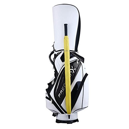 TRIPREL INC. 5-Way Golf Club Stand & Carry Bag w/ Bag Cap - White w/ Black Trim by Triprel Inc (Image #6)