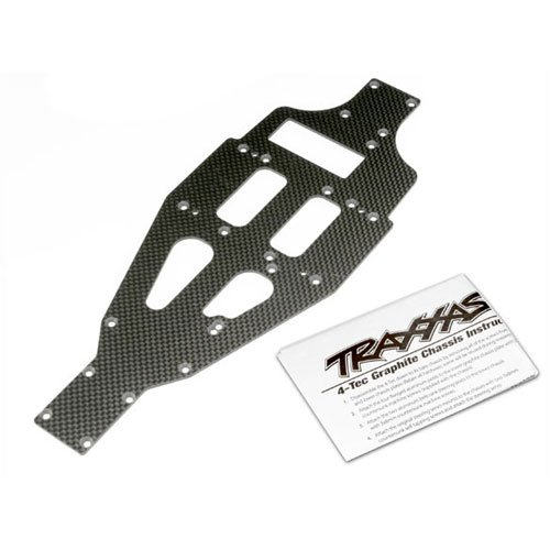 Traxxas TRA4322X Lower chassis, graphite