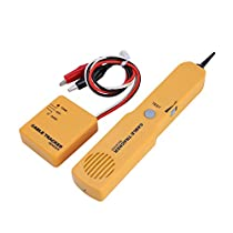 RJ11 Network Wire Tracker Tester Professional Cable Tracer Toner Line Finder Tone Detector Tool